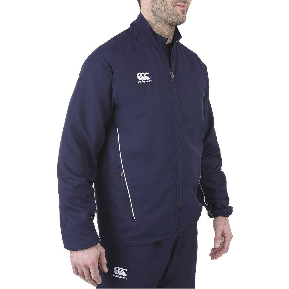 Canterbury Mens Team Track Full Zip Tracksuit Jacket