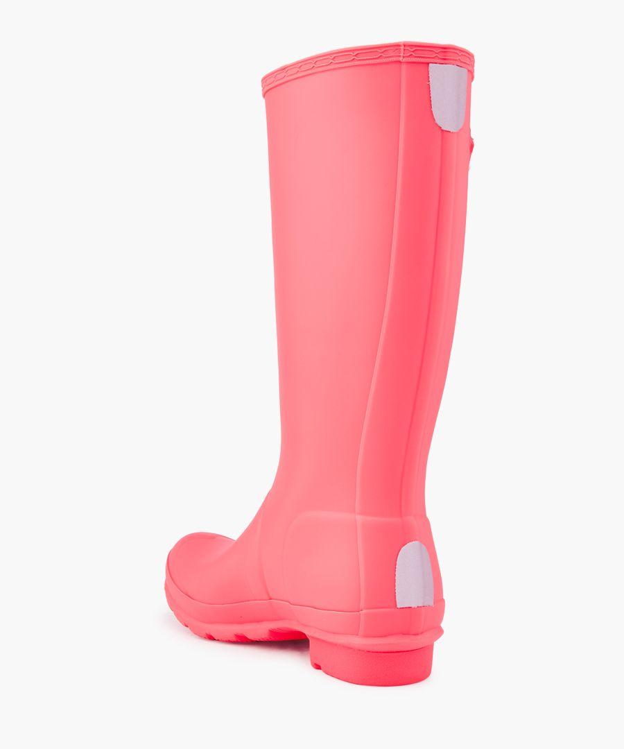 Kids Original hyper pink Wellington boots