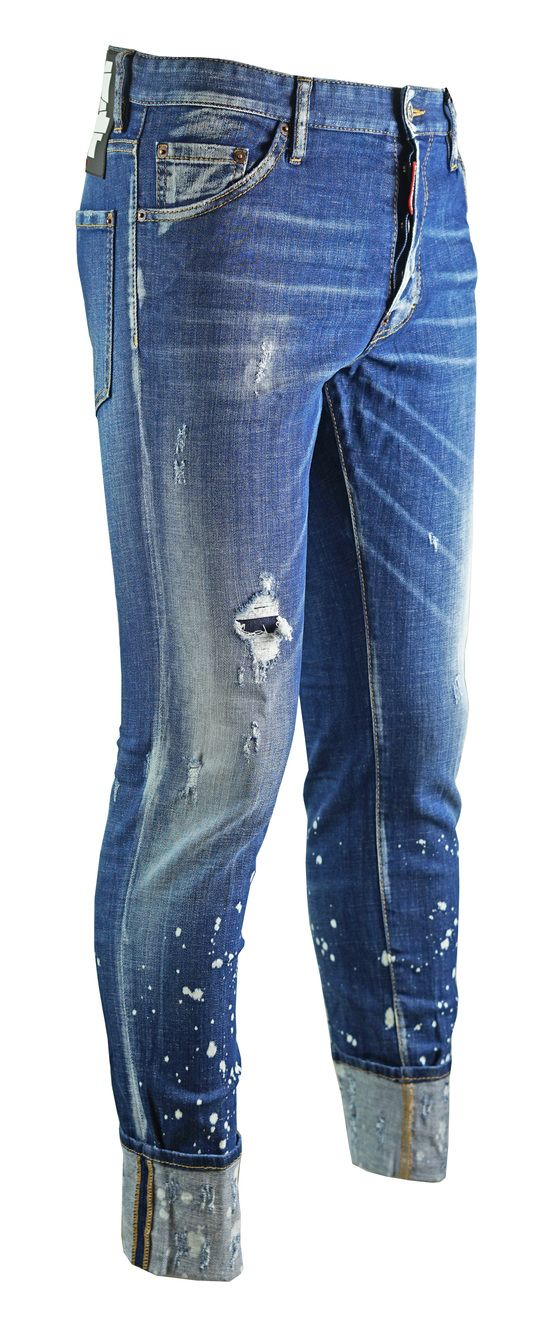 Dsquared2 Distressed Cool Guy Cropped Jeans