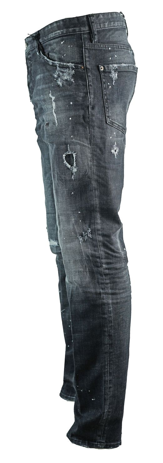 Dsquared2 Distressed Cool Guy Jean Black Jeans