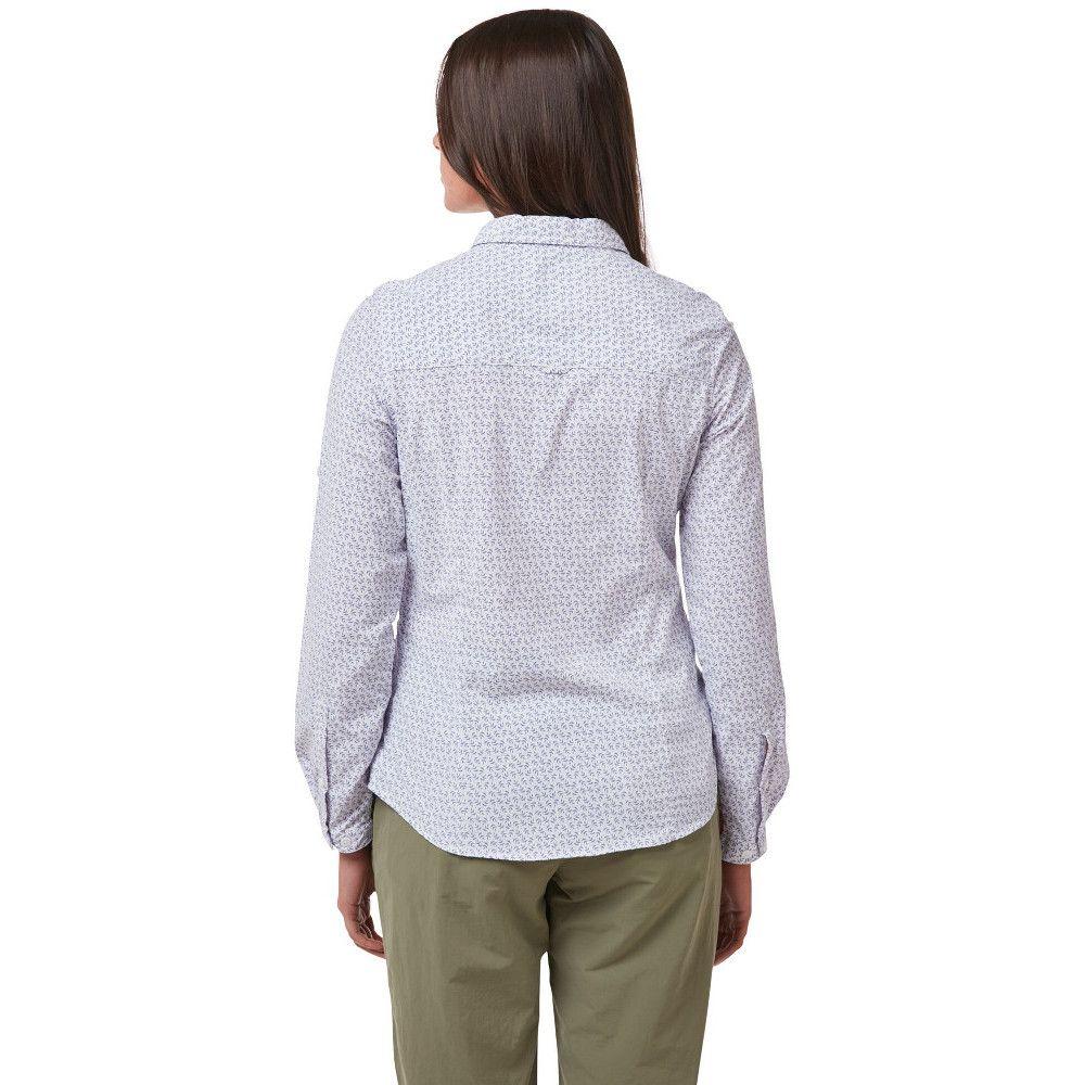Craghoppers Womens NosiLife Gisele Wicking Long Sleeve Shirt