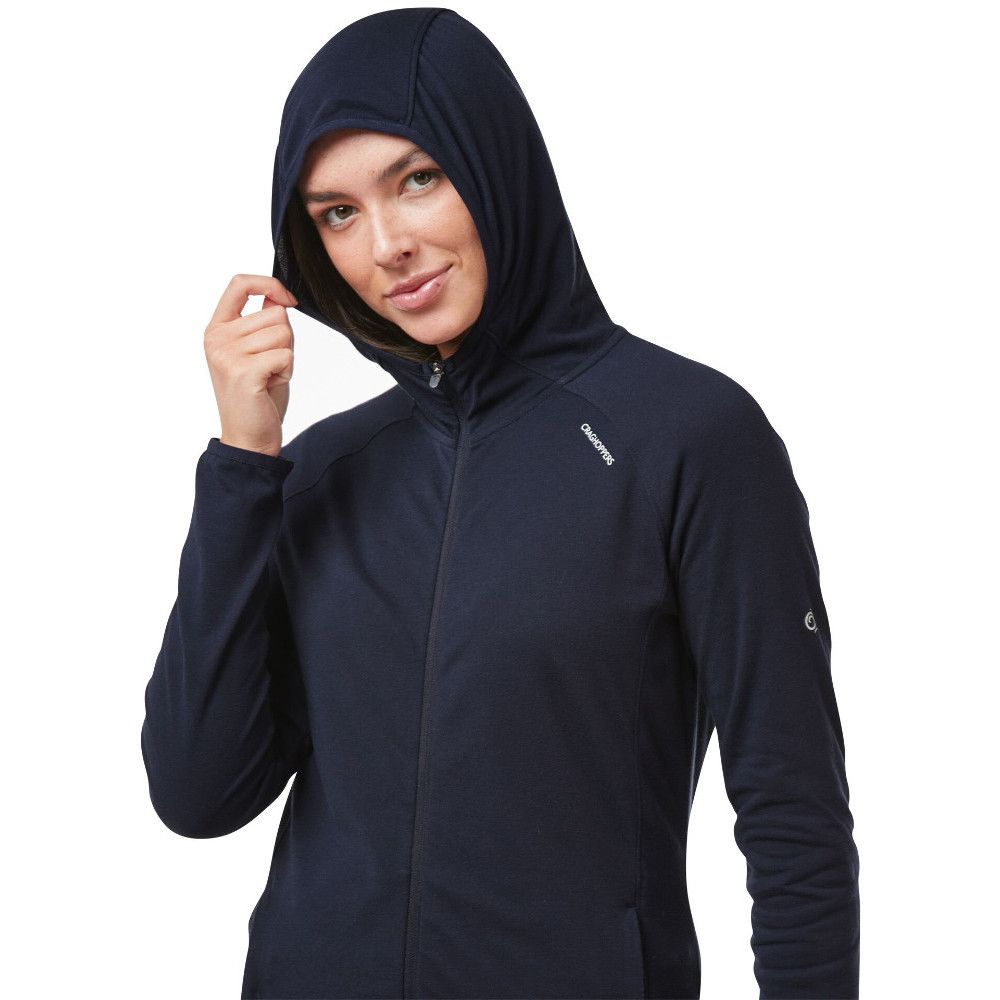 Craghoppers Womens NosiLife Nilo Full Zip Hooded Top