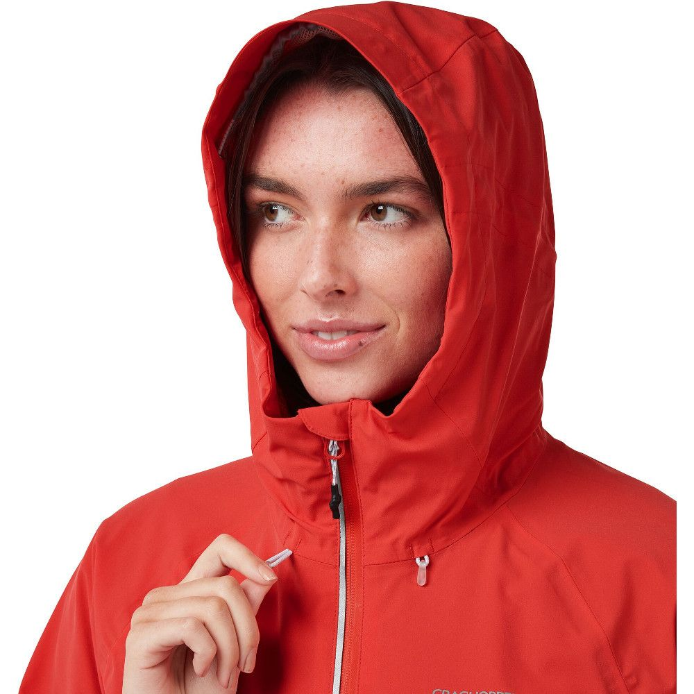 Craghoppers Womens Haidon AquaDry Breathable Waterproof Coat