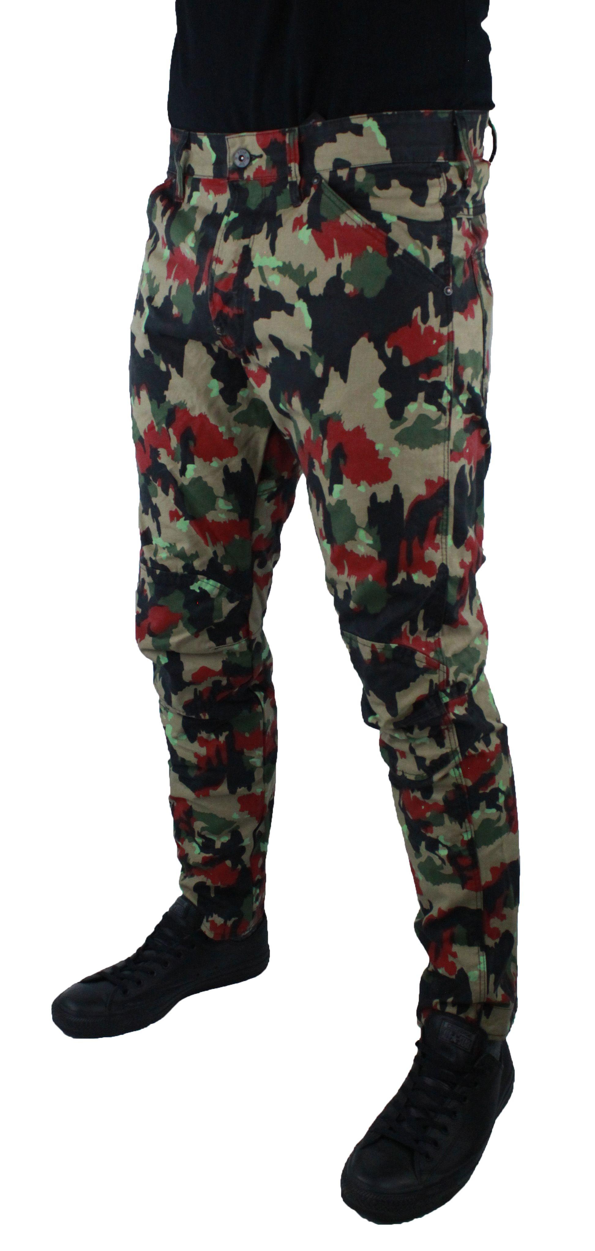 G-Star 5622 3D Tapeerd COJ Camo 8481 Jeans