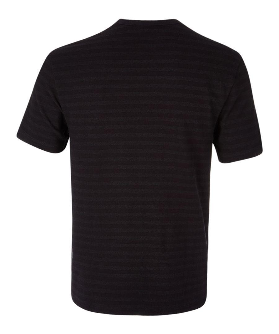 Carbon cotton blend T-shirt