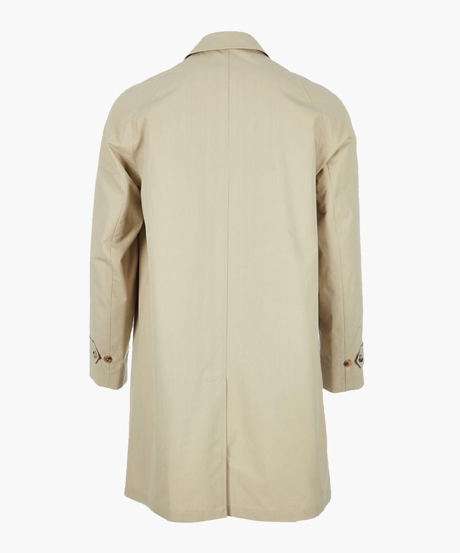 Made In London tan pure cotton mac