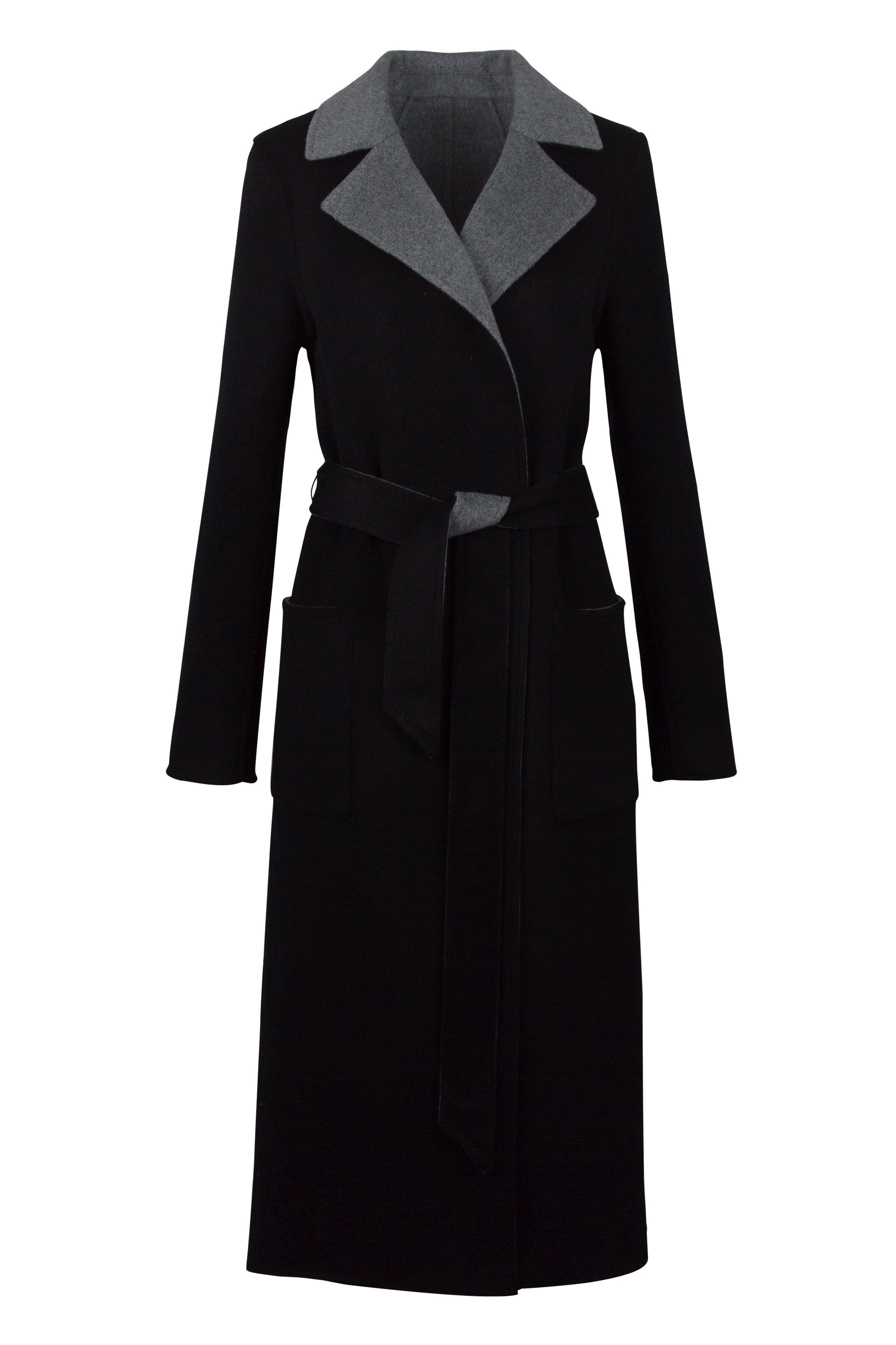 Duffy Cashmere Reversible Coat