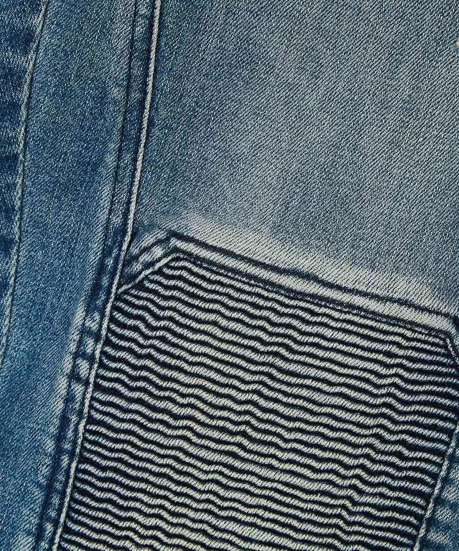 Blackrod dusty indigo trousers