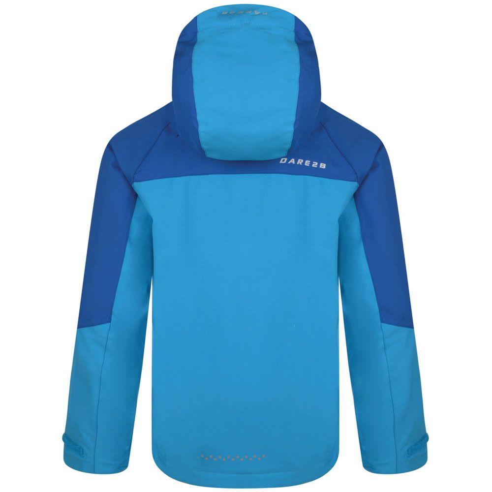 Dare 2b Boys & Girls Modulate Waterproof Breathable Hooded Coat Jacket