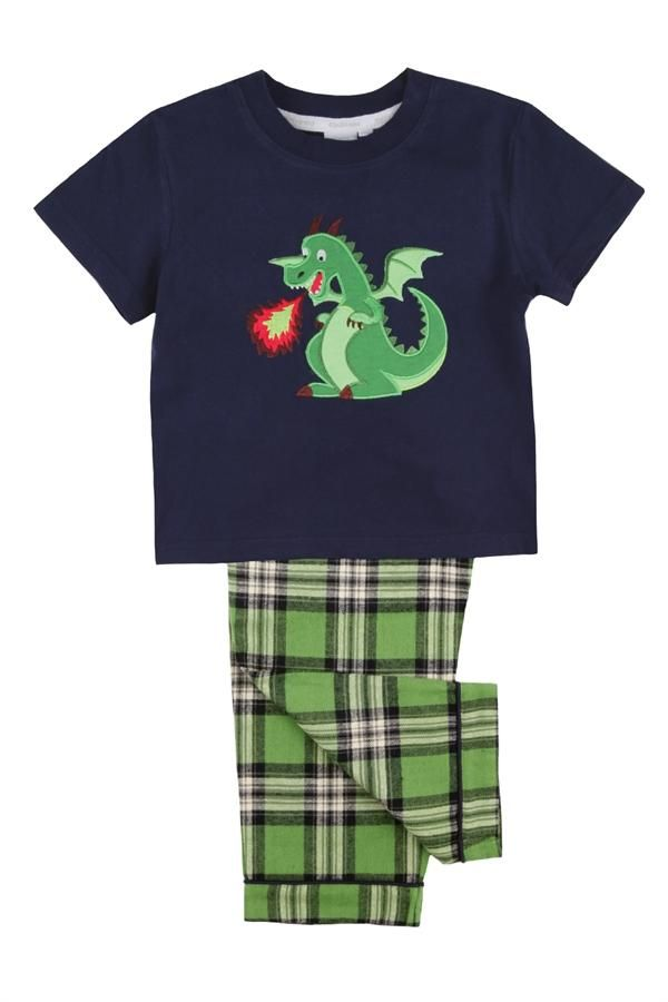 Dragon Pyjama Set for Boys