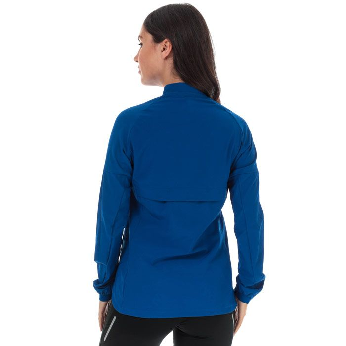 Women's adidas Rise Up N Run Jacket in Royal Blue
