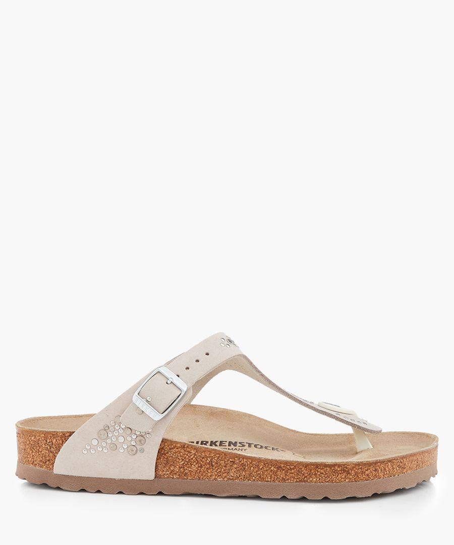 Gizeh beige regular-fit sandals