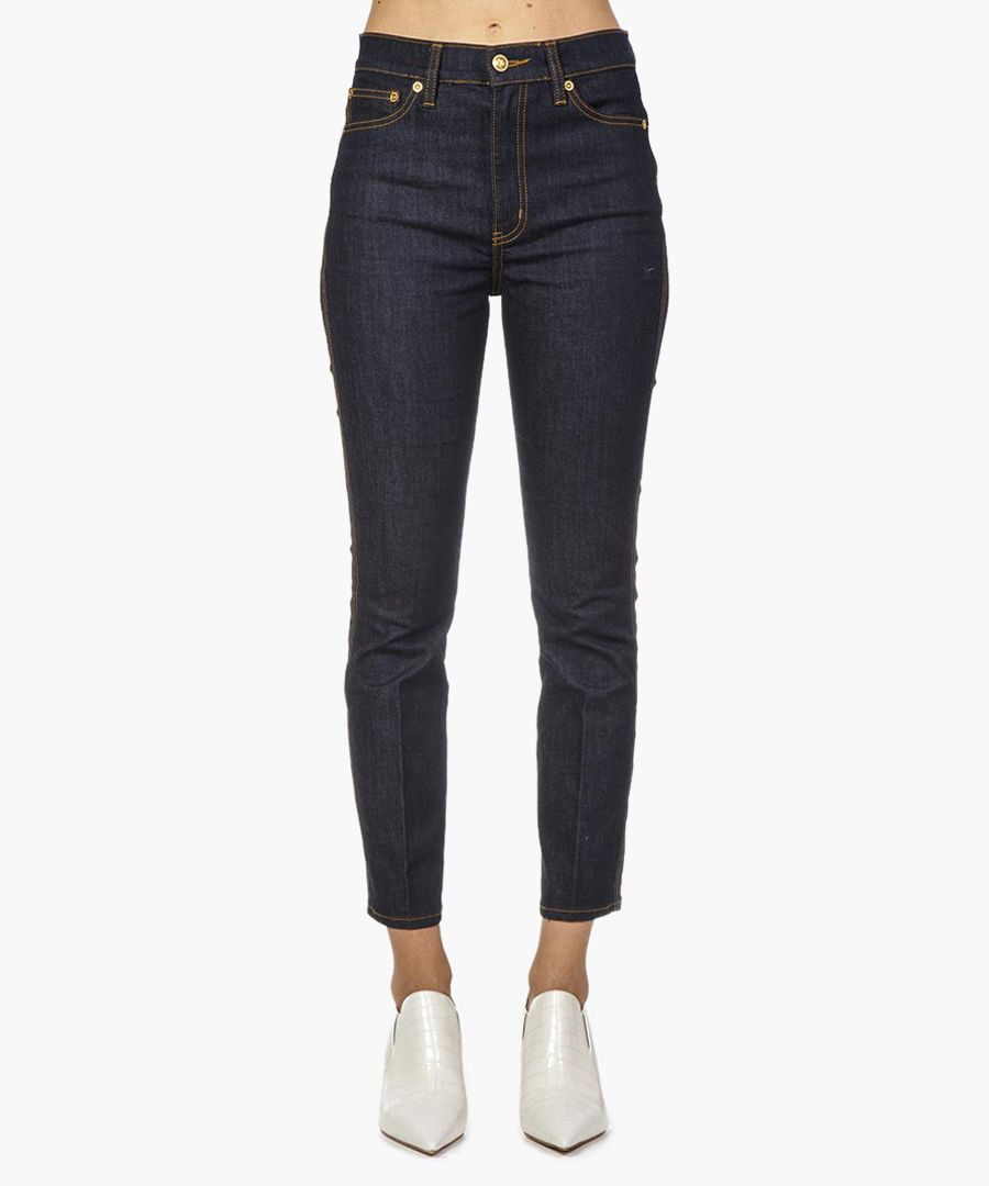 rebecca dark blue cotton jeans