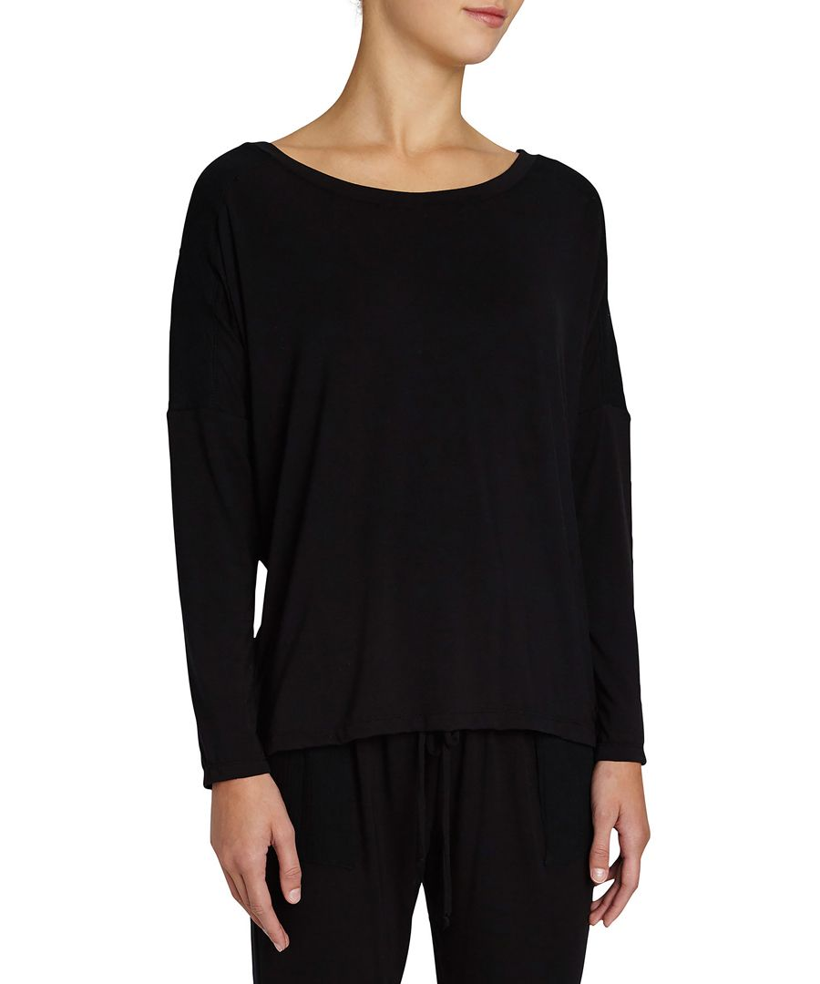 Purdy black long sleeve top