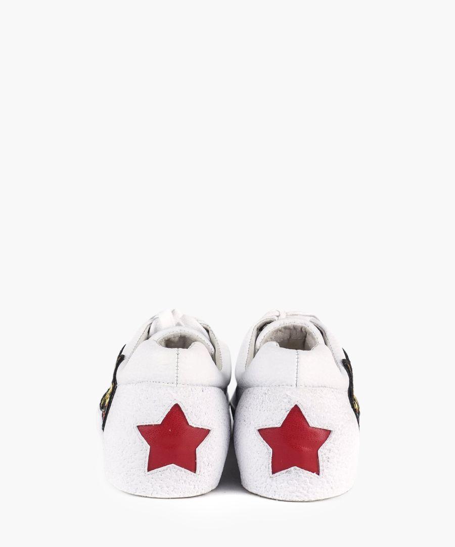 Women's Niagara white leather sneakers