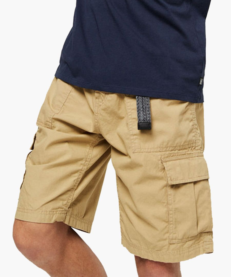 brown pure cotton shorts