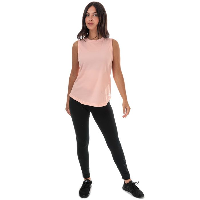 Women's adidas Performance Tank in Pink