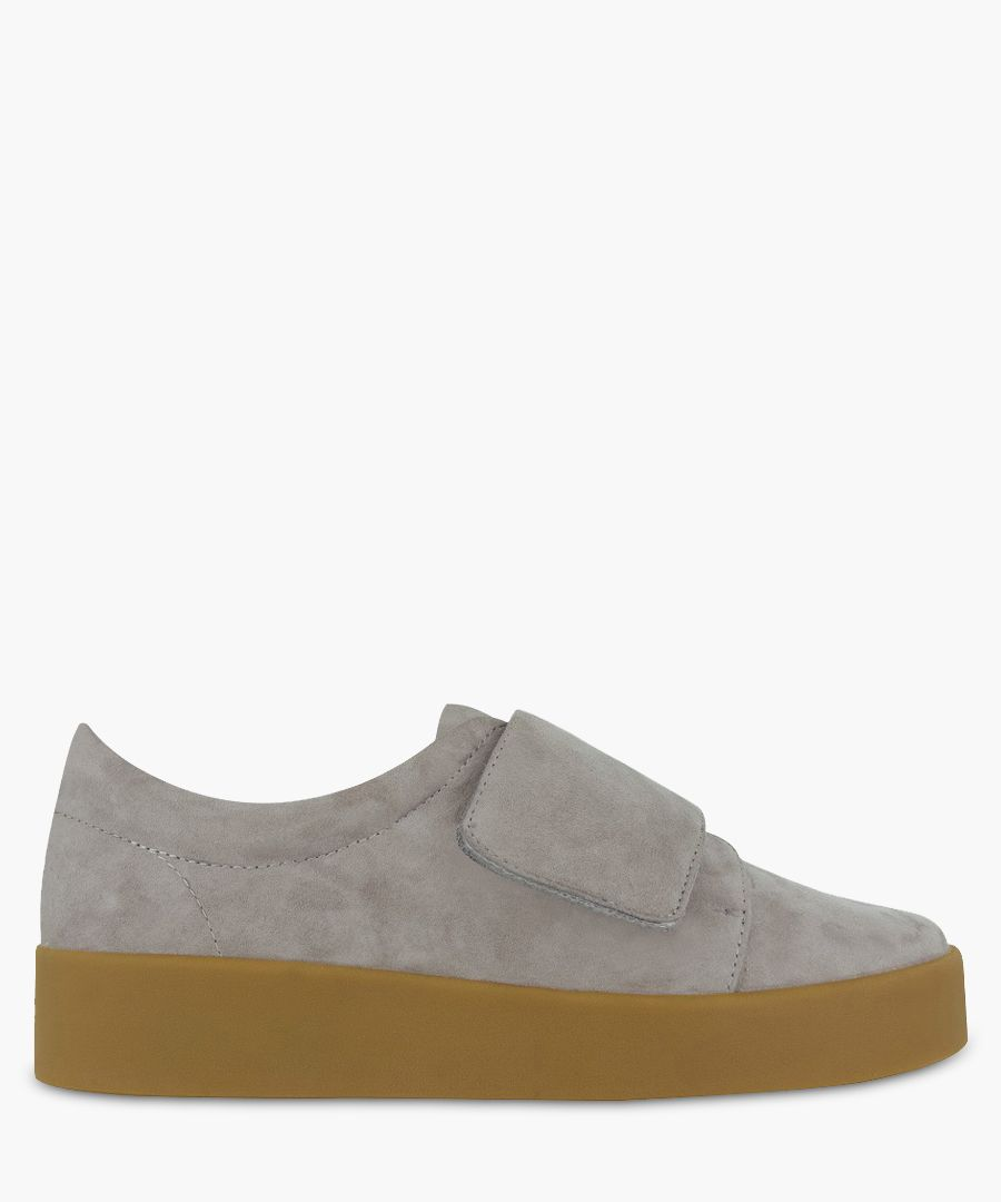 Alby grey suede sneakers