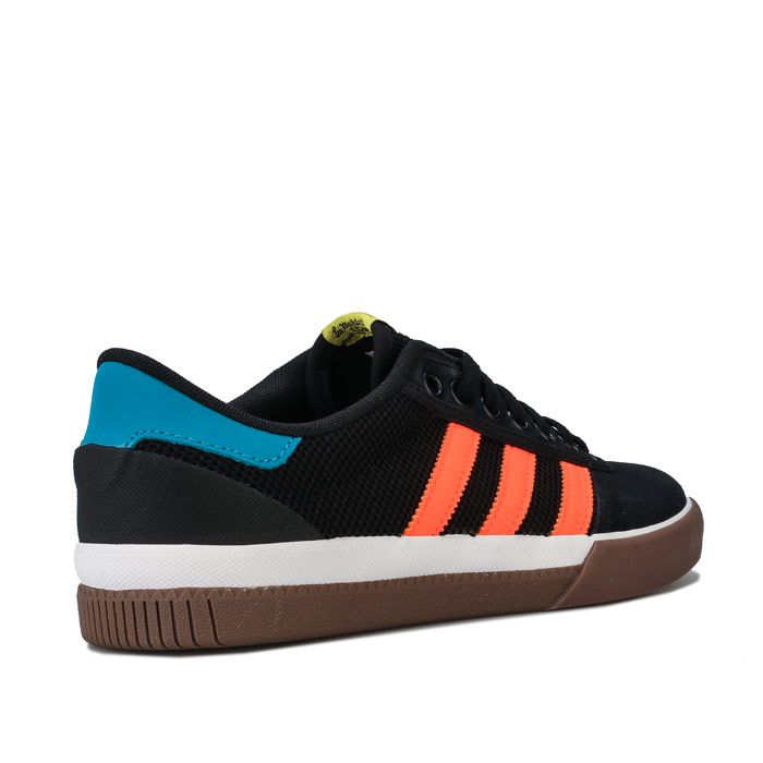 Men's adidas Lucas Premiere Trainers in black orange
