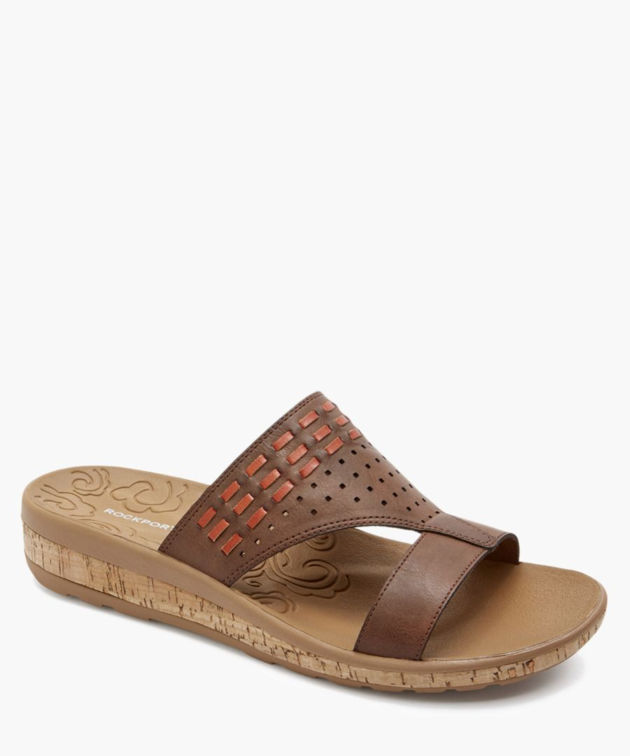 Keona tan leather sandals