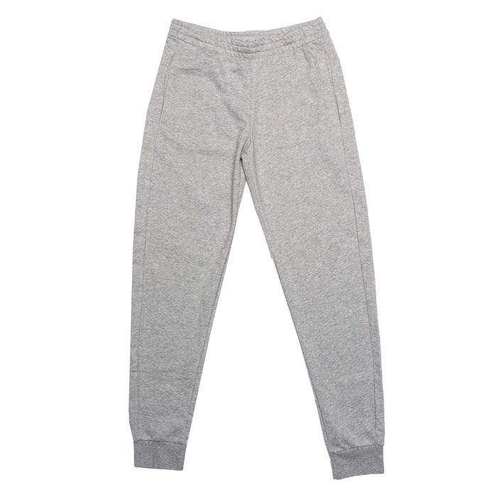 Girl's adidas Junior Linear Jog Pant in Grey