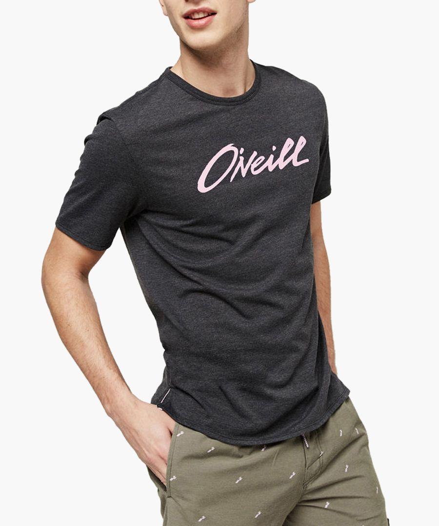 Black out cotton logo T-shirt