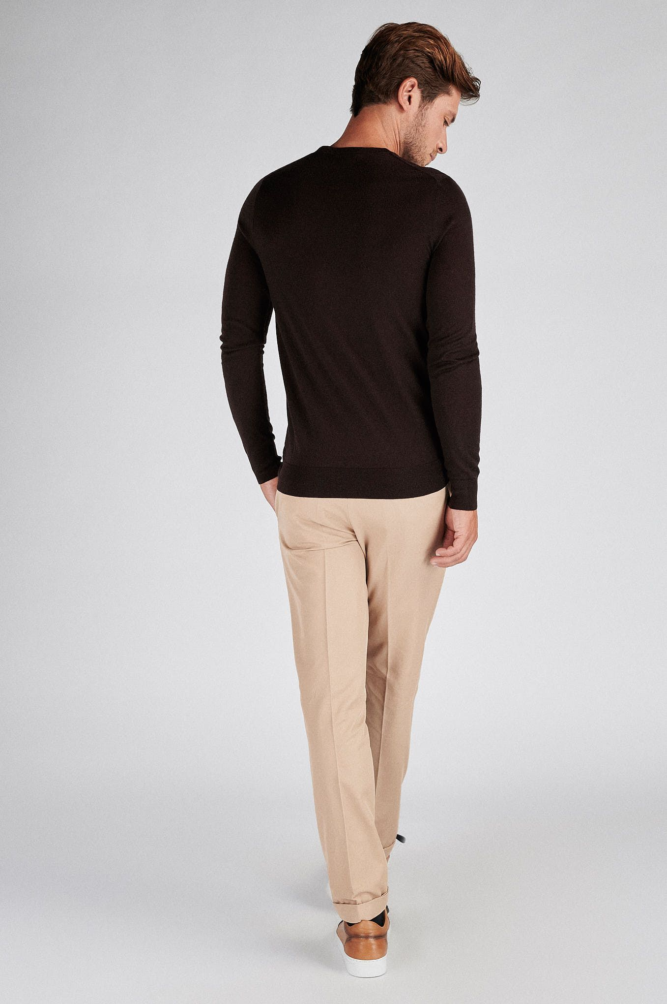 Men s Casual Fit Knitted Sweater