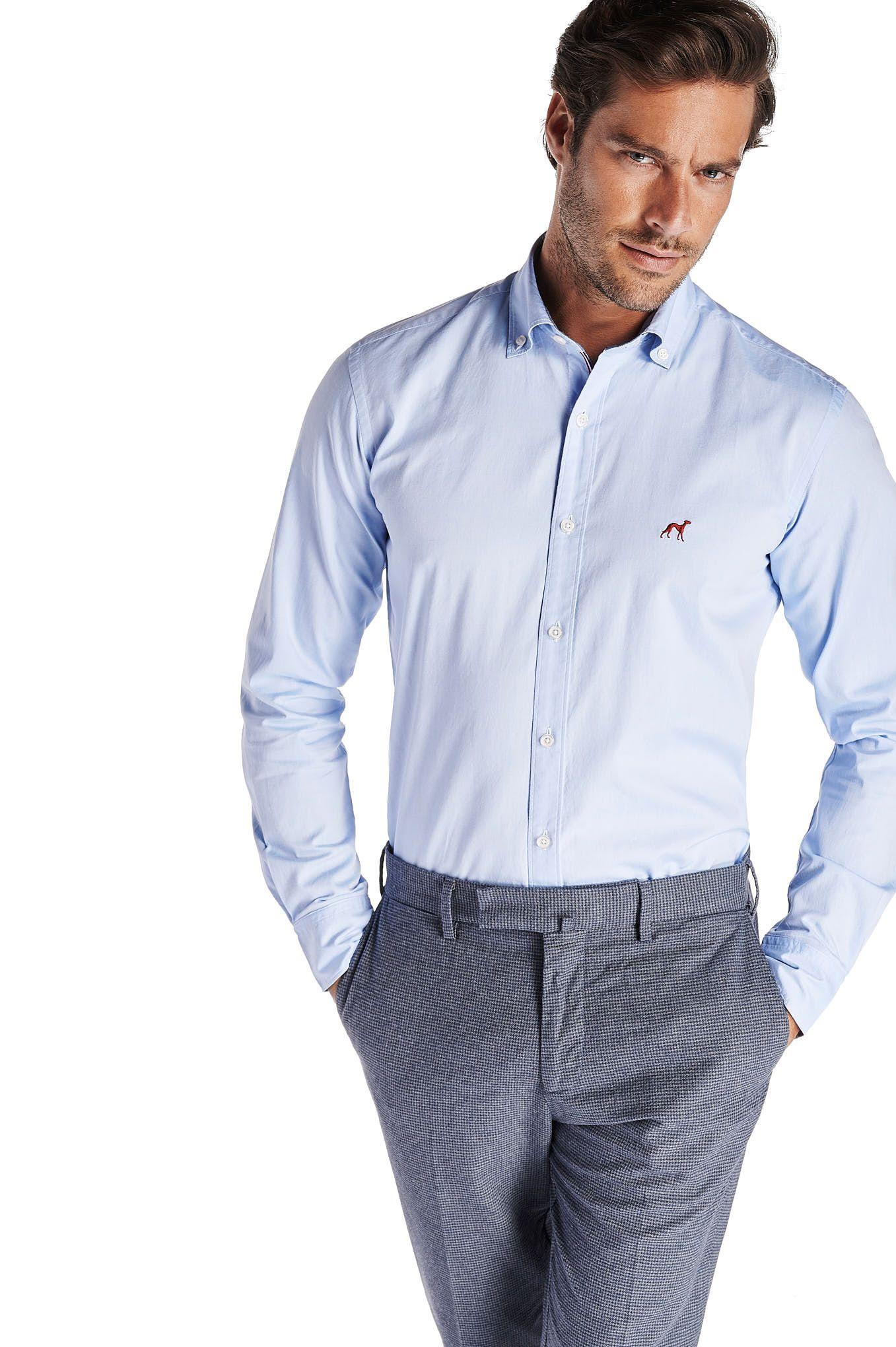 Men s Sport Slim Fit Rugby Club Shirt
