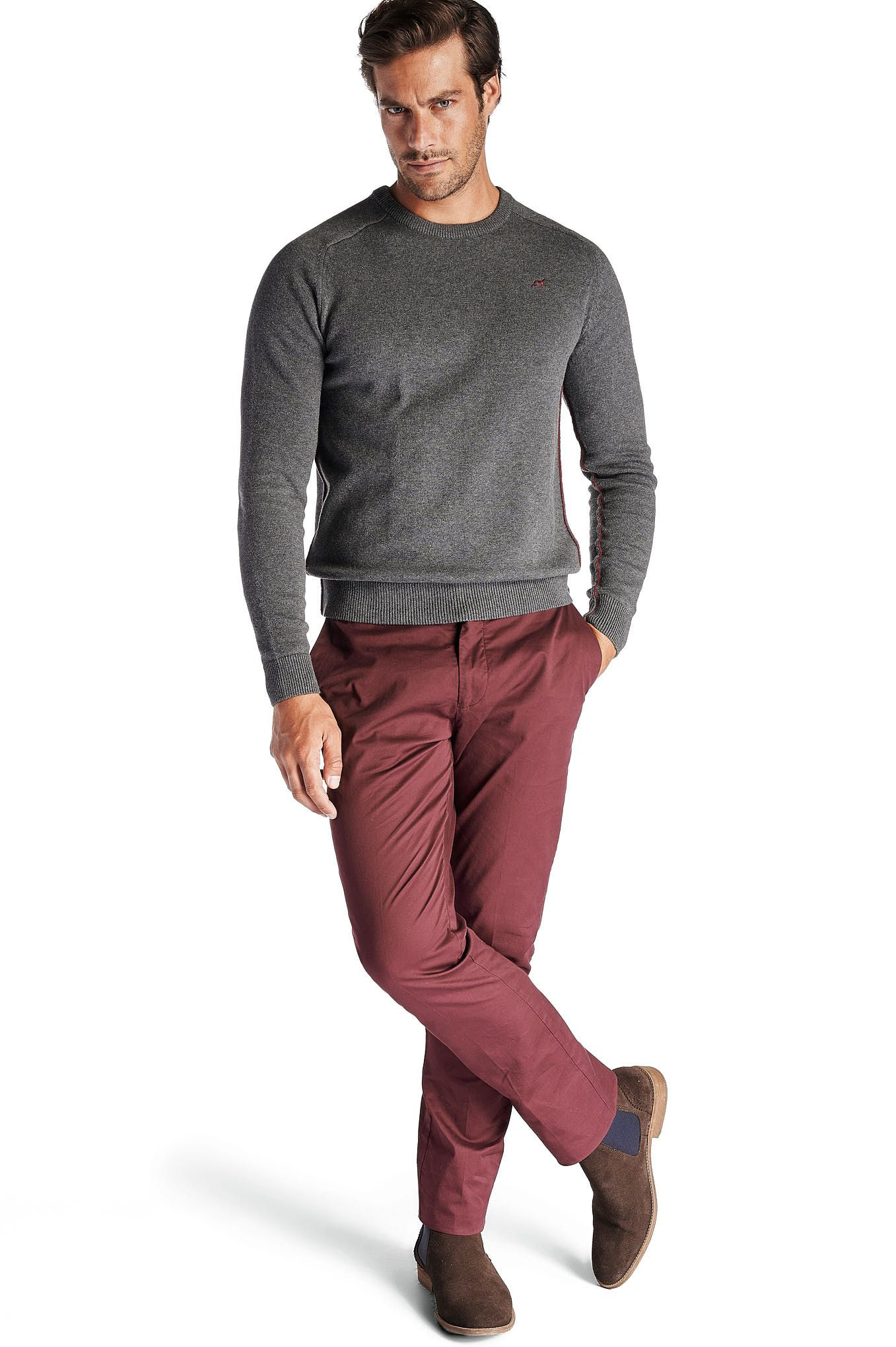 Men s Slim Fit Sport Chino Trousers