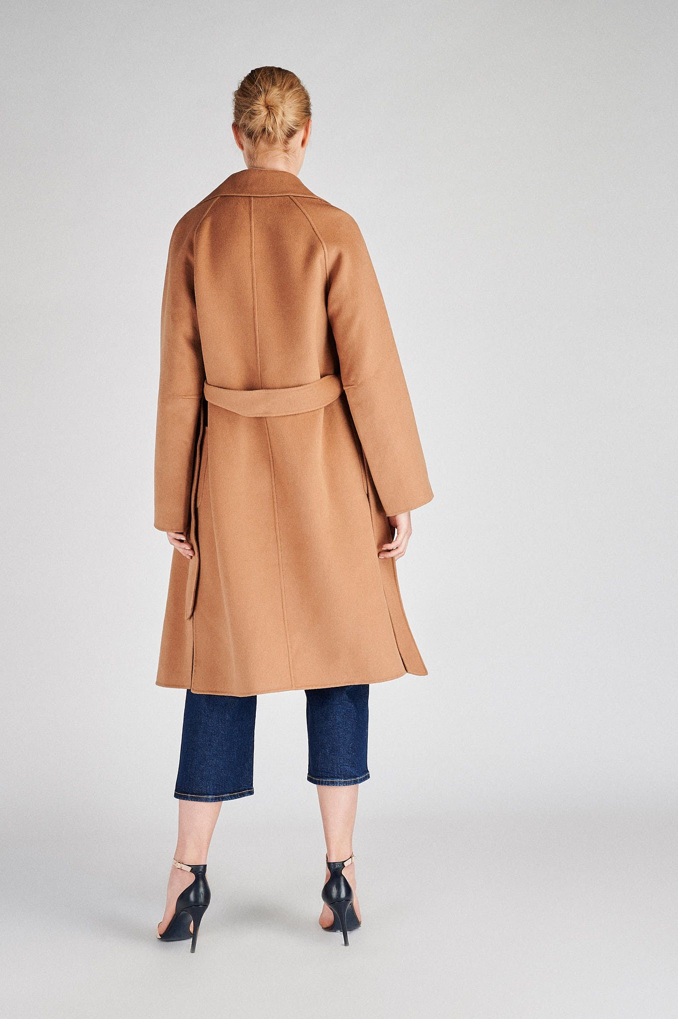 Women s  Casual Overcoat With Belt