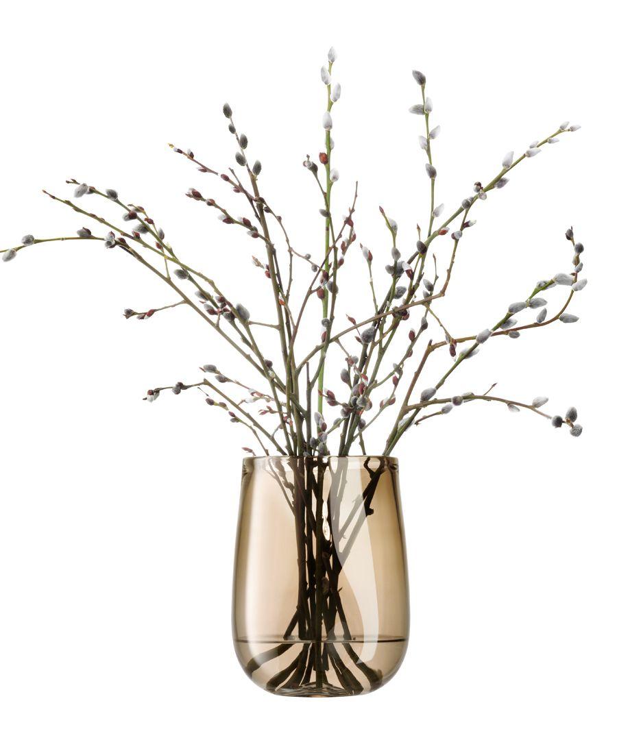 Forest larch glass vase 23cm