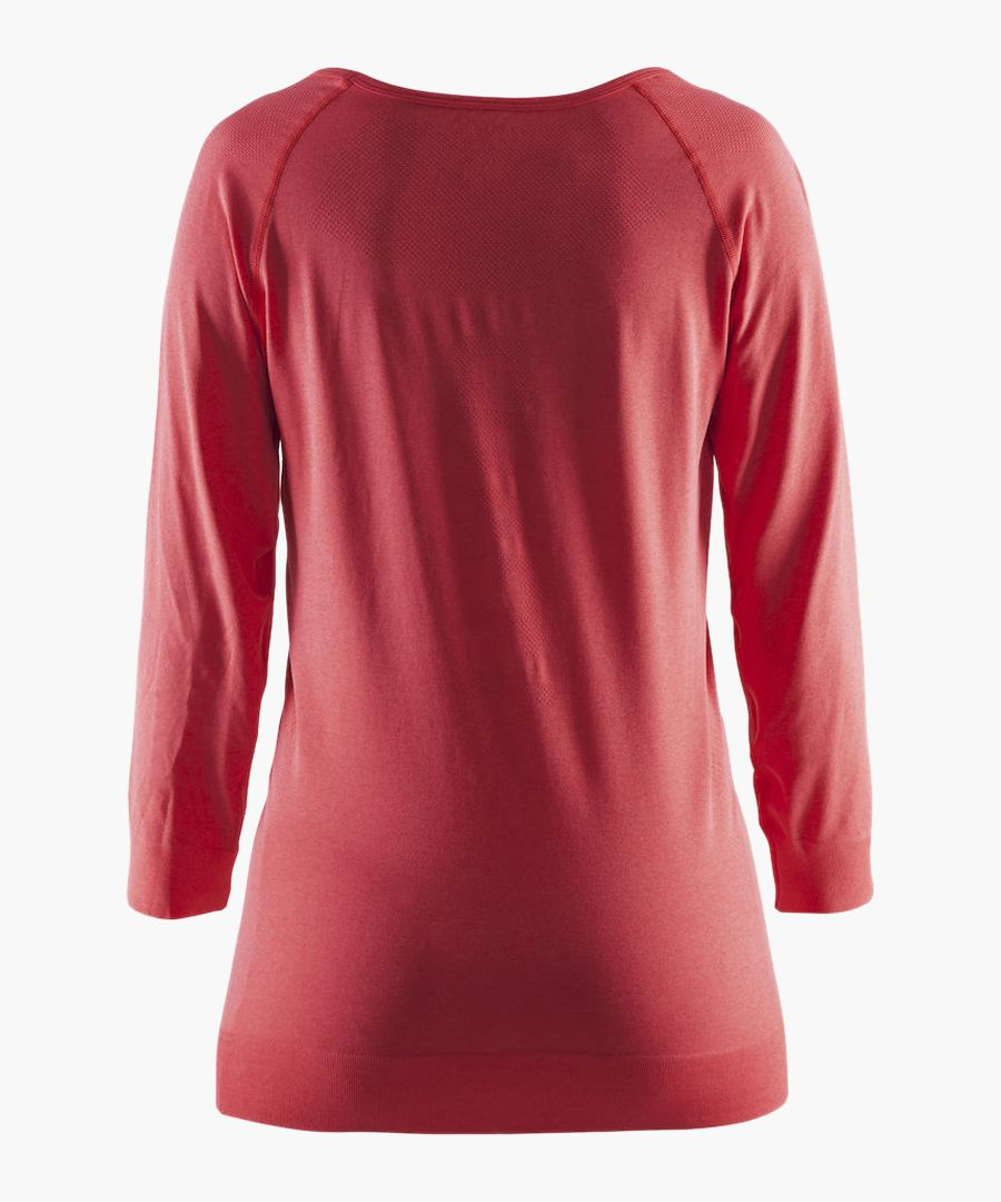 Seamless Touch Tempo red sweatshirt