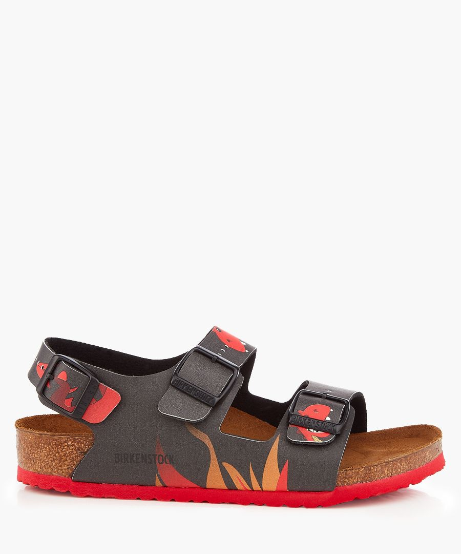 Kids Milano dragon fire sandals