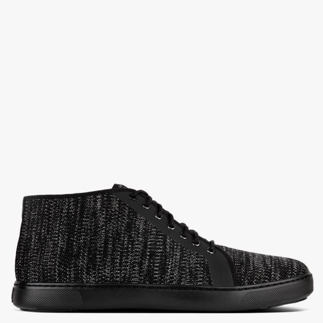 Fitflop Men's Andor Knitted Space Dye High Top Trainers