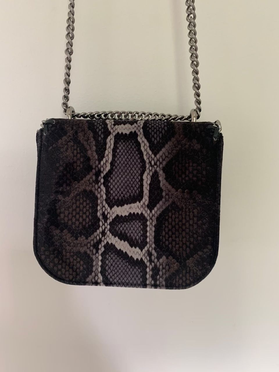 Vintage Stella McCartney Snakeskin Falabella Box Bag Brown