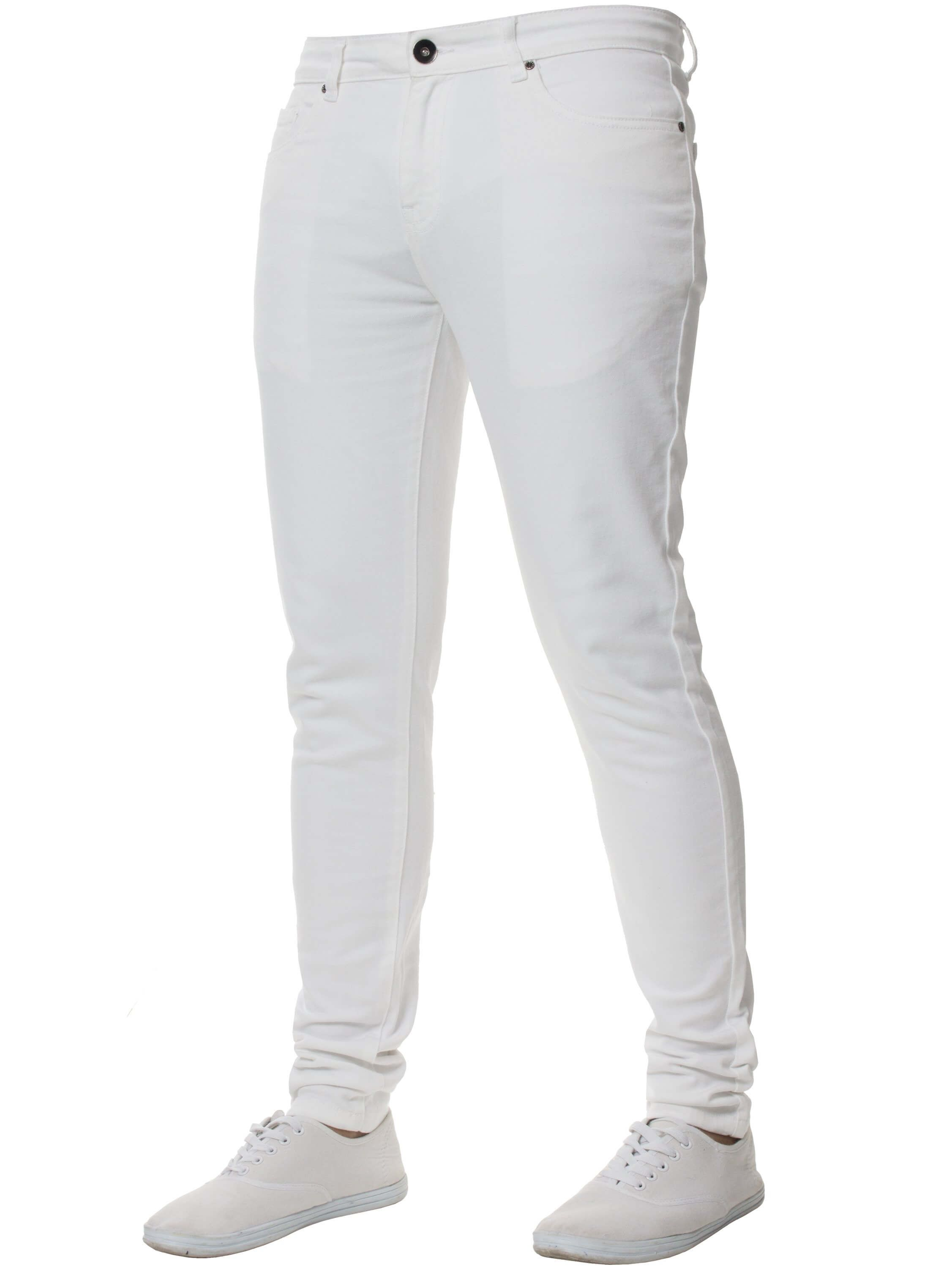 White Super Skinny Stretch Jeans