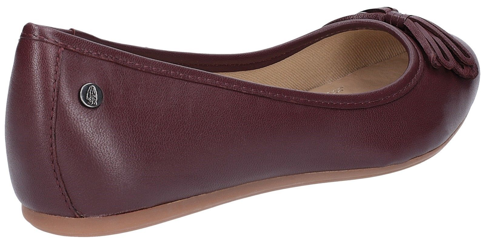 Heather Bow Ballet Shoe