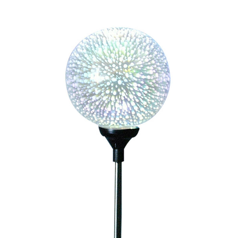 Haven Plastic Solar Garden 3D Globe Light