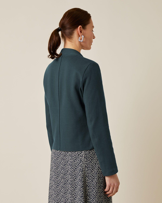 Textured Jersey Jacket
