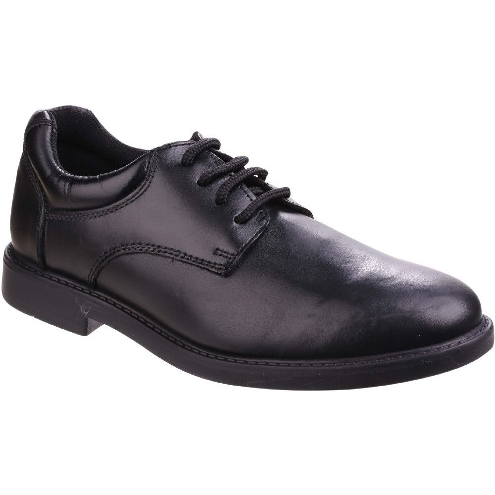 Hush Puppies Boys Tim Leather Oxford Lace Up Back to School Shoes