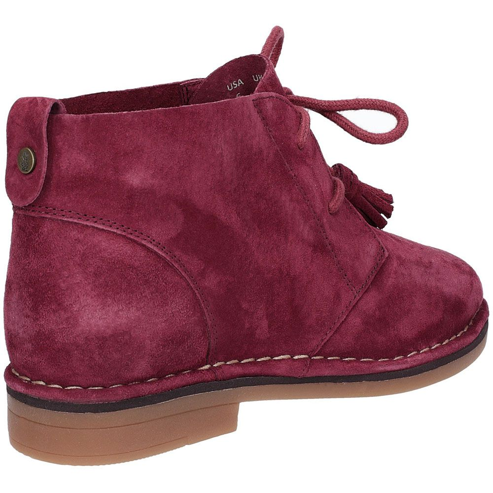 Hush Puppies Womens Cyra Catelyn 2 Leather Desert Boots