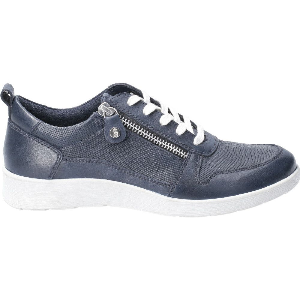 Hush Puppies Womens Roo Zip Up Lace Up Light Casual Shoes