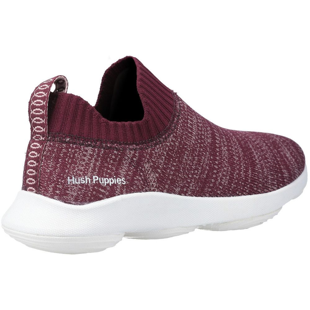 Hush Puppies Womens Free BounceMAX Slip On Light Gym Shoes