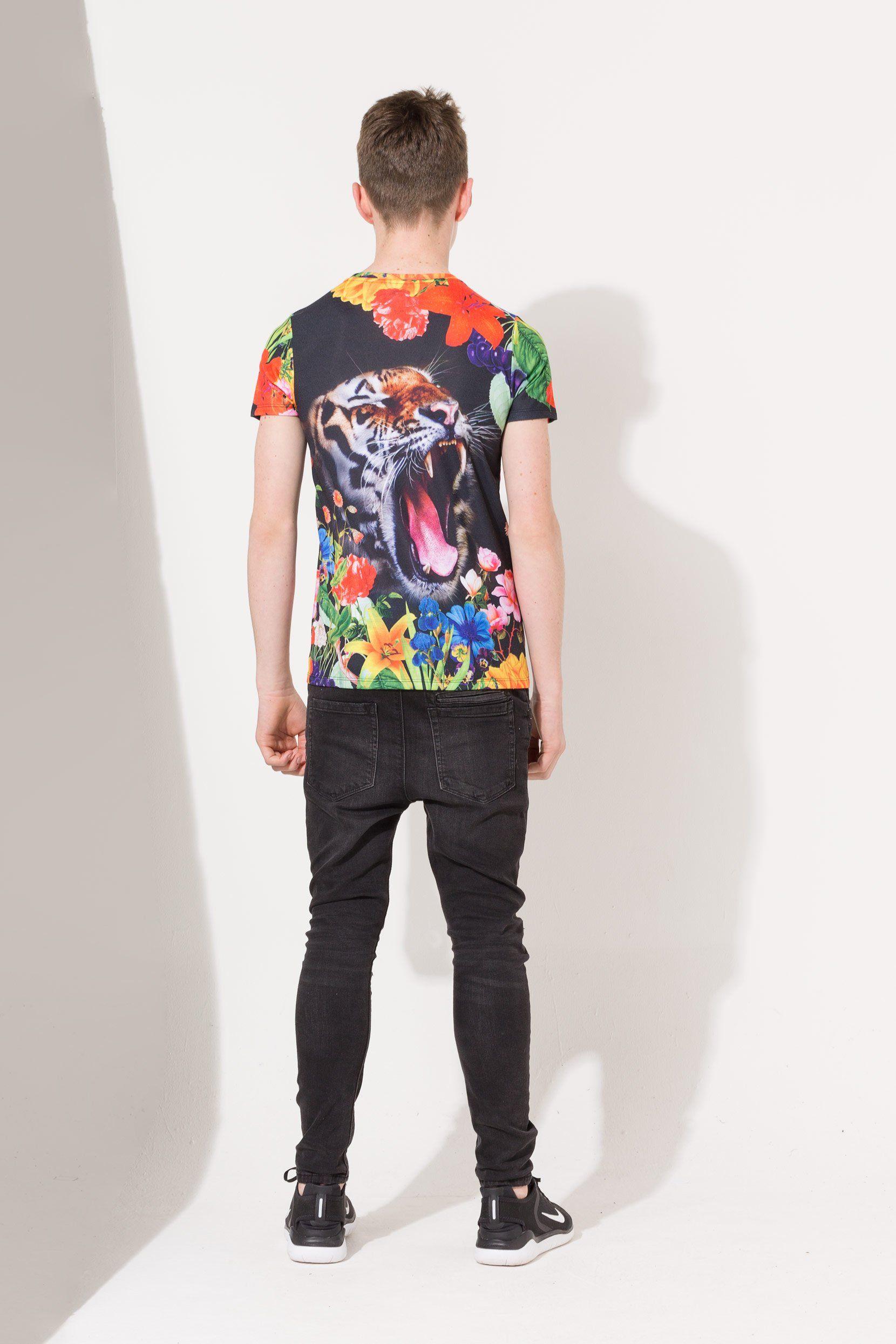 Hype Tiger Flower Kids T-Shirt