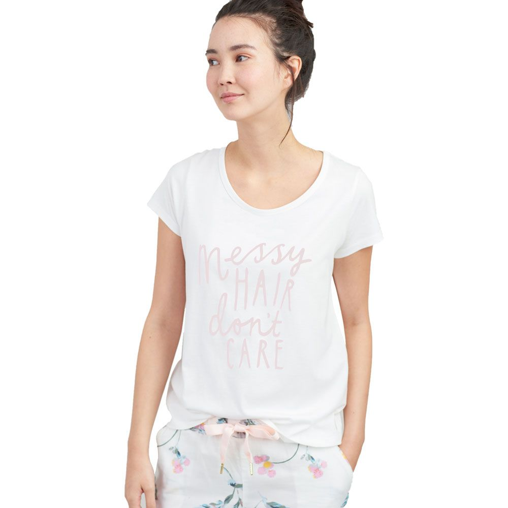 Joules Womens Anna Soft Breathable Short Sleeve T-Shirt