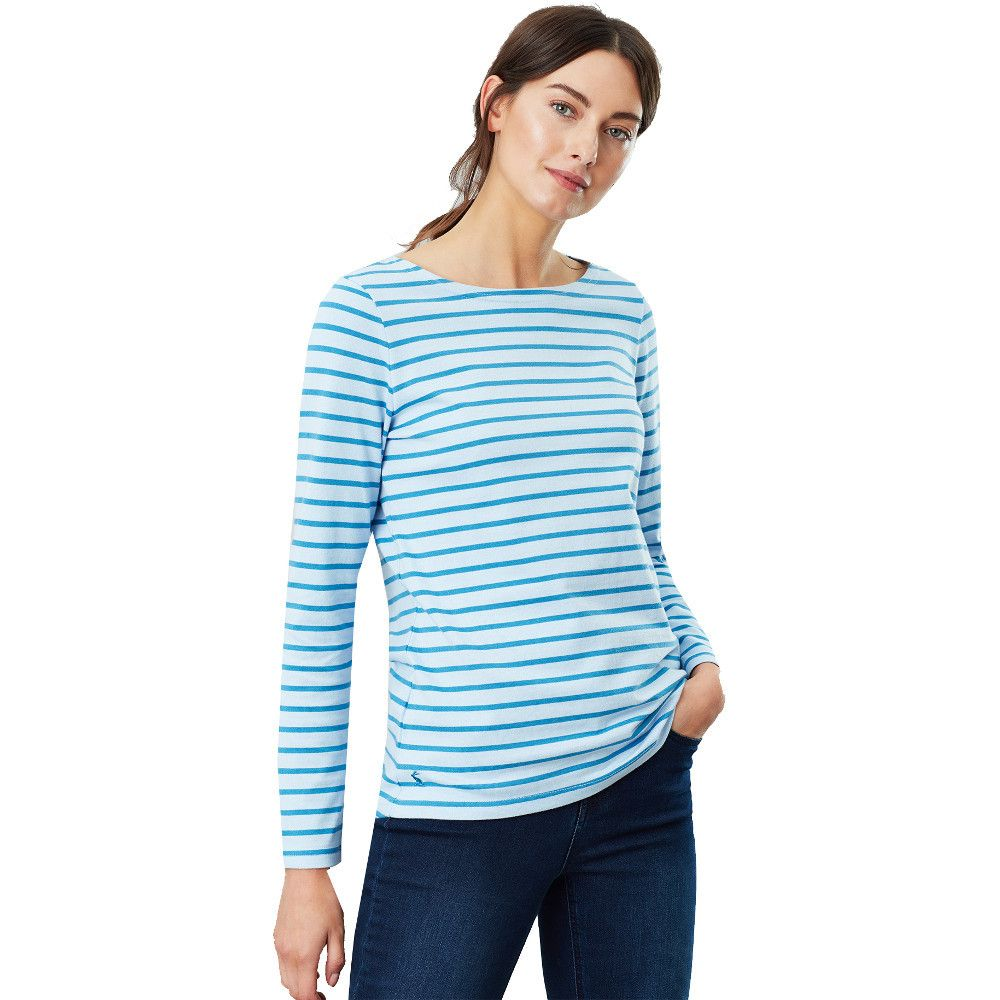 Joules Womens Harbour Long Sleeve Relaxed Fit Fashion Top