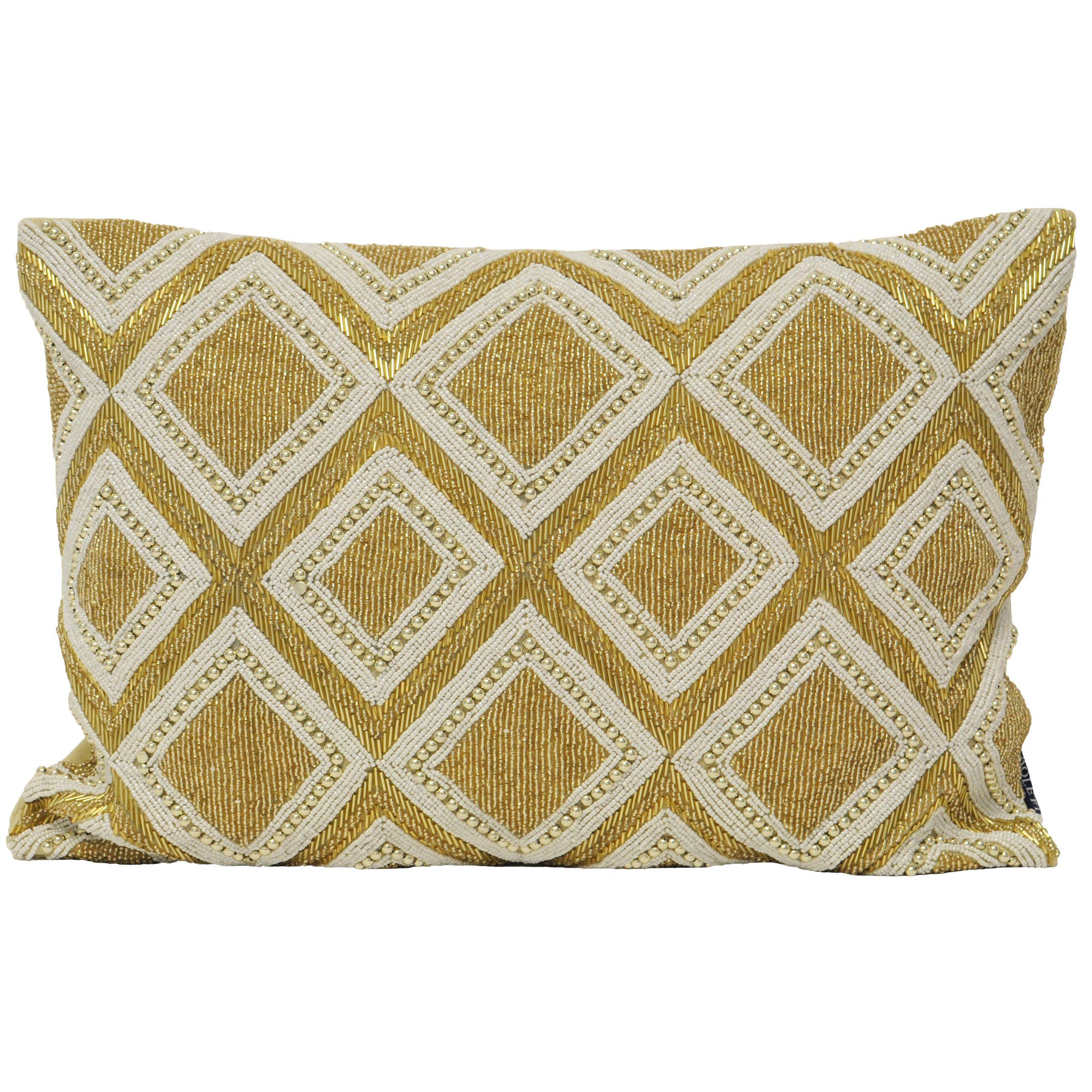 Kenitra Poly Cushion 35X50 Gold