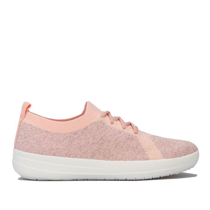 Women's Fit Flop F-Sporty Uberknit Trainers in Pink