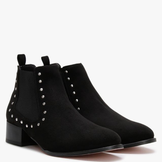 Laceys Charlita New Studded Chelsea Boots