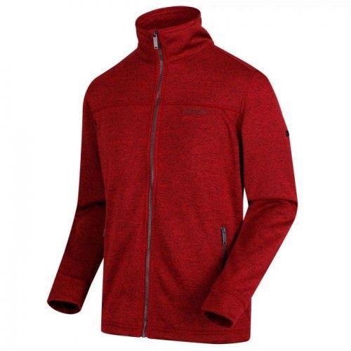Regatta Mens Galton Heavyweight Knit Effect Fleece